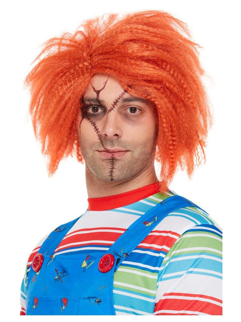 Chucky Wig, Red/Ginger, Halloween Fancy Dress