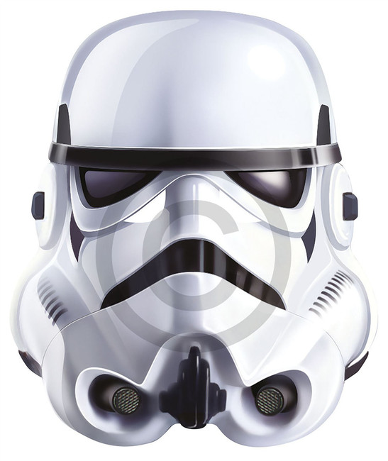 Stormtrooper Card Face Mask