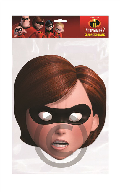 Elastigirl Card Mask (Incredibles)
