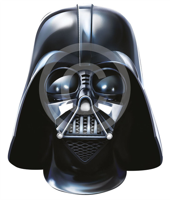 Darth Vader Card Face Mask