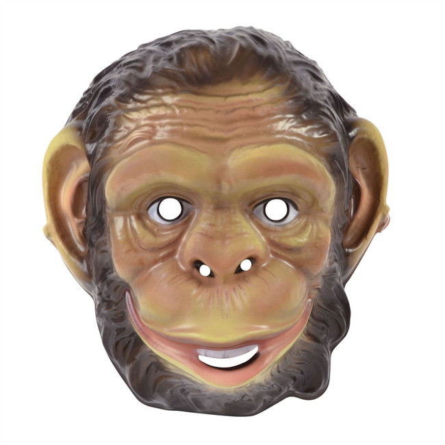 Chimp Plastic Mask