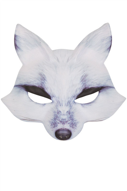 Wolf Mask White EVA