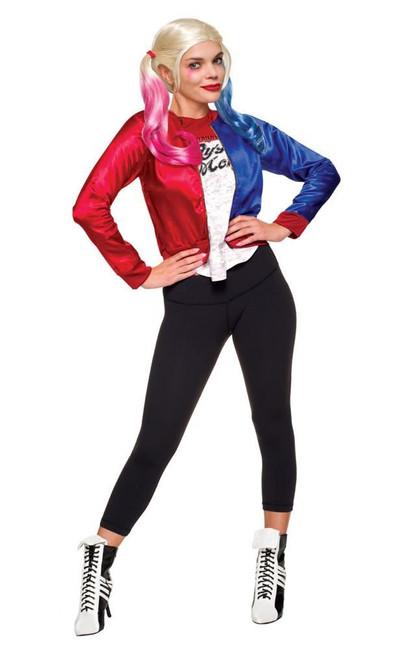 Harley Quinn - Adult Costume Kit Costume, Fancy Dress, Large, US Size