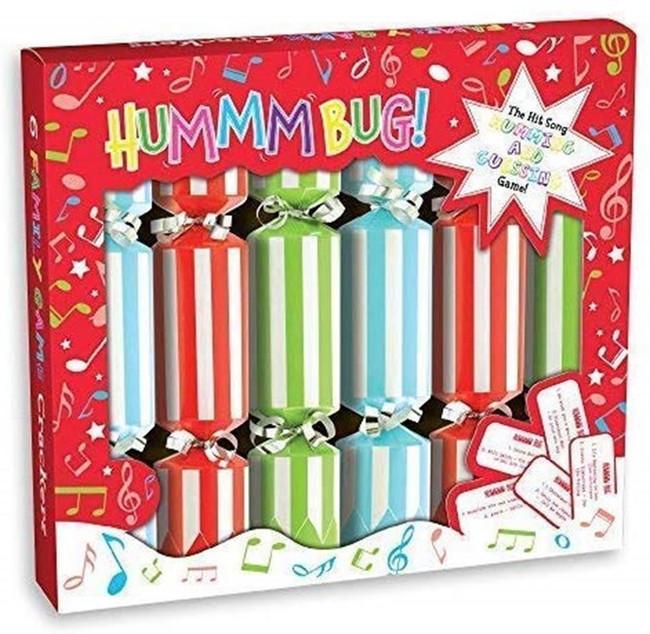 "Christmas Humbug Game Crackers 6 x 9"""