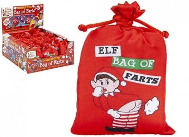 Christmas IC Electronic Elf Bag of Farts, Stocking Filler/Gift