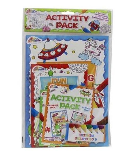3 PACK ACTIVITY BOOK SET, Stocking Filler/Gift