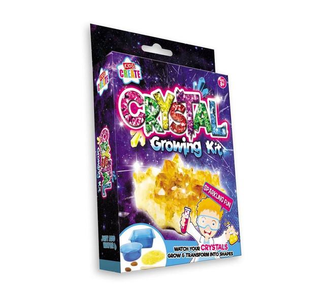 Kids Create Activity Play Crystal Growing Kit, Stocking Filler/Gift