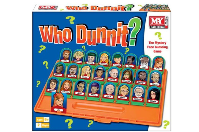 WHO DUNNIT BOARD GAME, Game/Toy, Stocking Filler/Gift