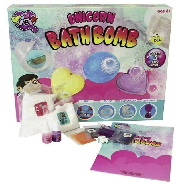 CREATE YOUR OWN BATH BOMBS, Christmas Stocking Filler/Gift