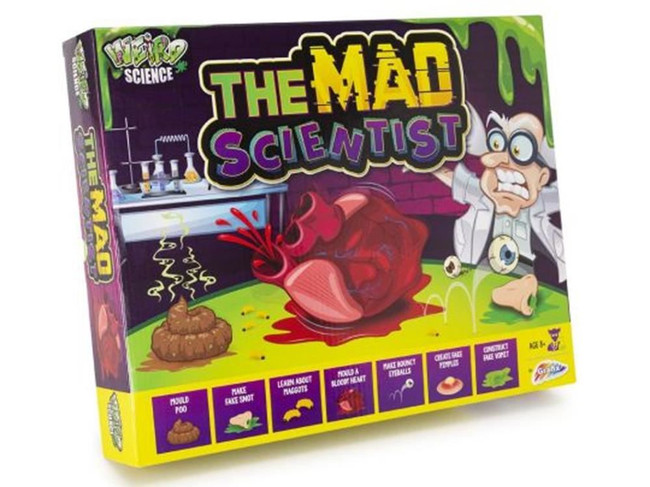 The Mad Scientist Kit, Game/Toy, Stocking Filler/Gift