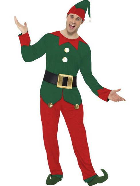 "Elf Costume, , Chest 38""-40"", Leg Inseam 32.75"""