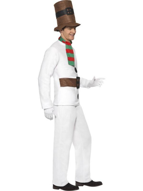 "Mr Snowman Costume, Chest 38""-40"", Leg Inseam 32.75"""