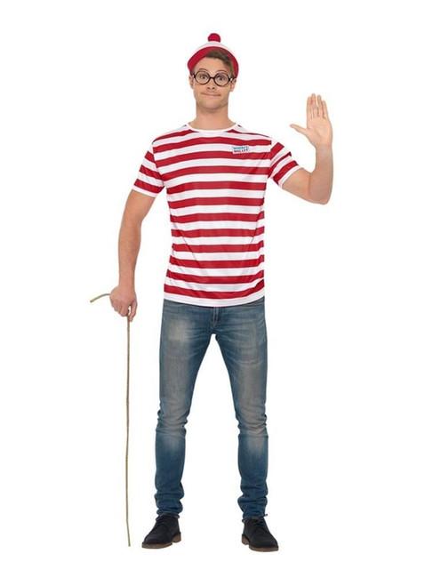 Where's Wally? Kit, Fancy Dress Accessory, XL