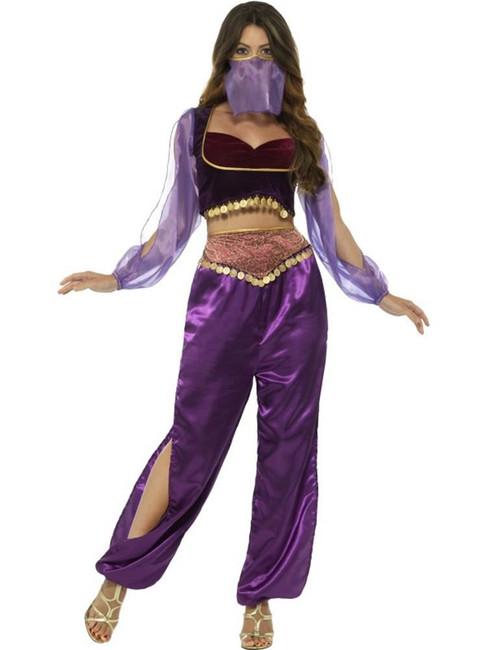 Arabian Princess Costume, Around The World Fancy Dress. UK Size 16-18