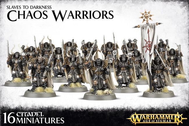 Chaos Warriors, Warhammer 40,000 Age of Sigmar, 40k, Games Workshop