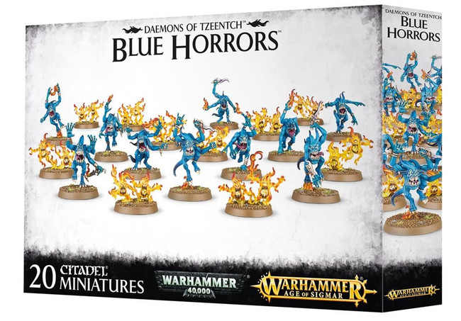 Daemons Of Tzeentch Blue Horrors, Warhammer 40,000 Age of Sigmar, 40k