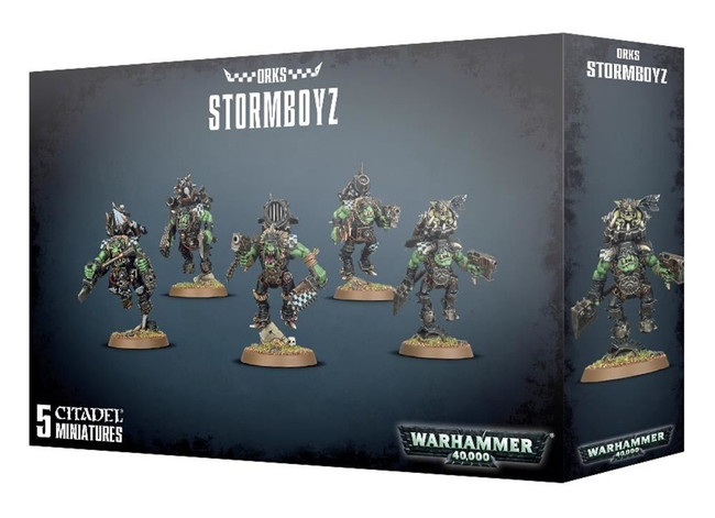 Ork Stormboyz, Warhammer 40,000, 40k, Games Workshop