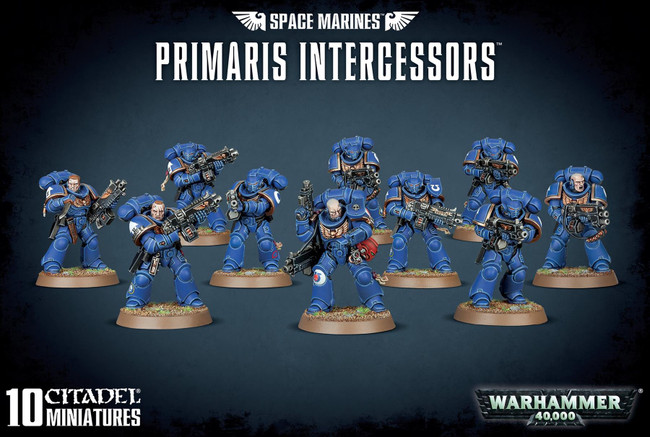 Games Workshop, Space Marines Primaris Intercessors Plastic Kit