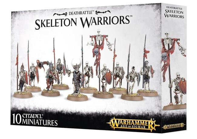 Deathrattle Skeleton Warriors, Warhammer 40,000 Age of Sigmar, 40k