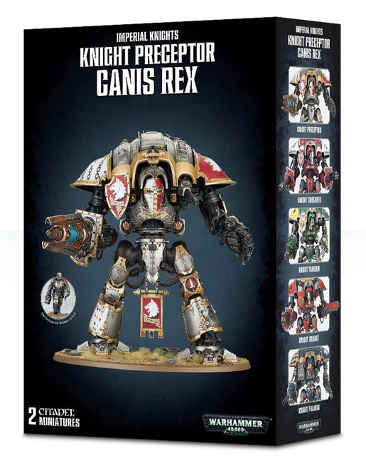 Knight Preceptor Canis Rex, Warhammer 40,000, 40k, Games Workshop