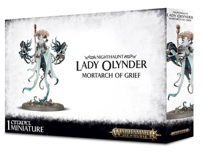 Nighthaunt Lady Olynder, Warhammer 40,000, Games Workshop