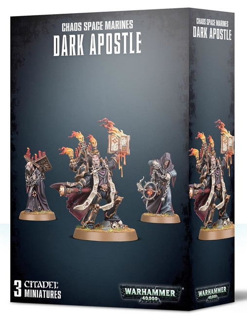 Chaos Space Marines Dark Apostle, Warhammer 40,000, Games Workshop