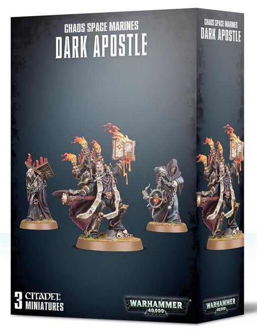 Chaos Space Marines Dark Apostle, Warhammer 40,000, Games Workshop