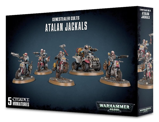 Genestealer Cults Atalan Jackals, Warhammer 40,000, Games Workshop