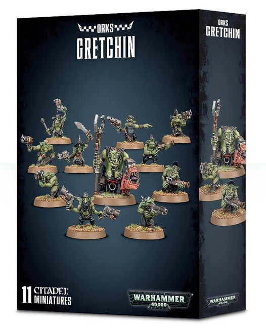 Orks Gretchin, Warhammer 40,000, 40k, Games Workshop