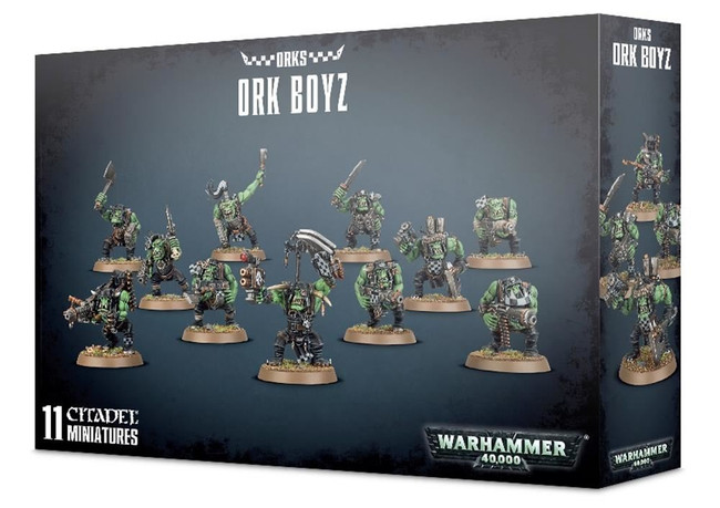 Ork Boyz, Warhammer 40,000, 40k, Games Workshop