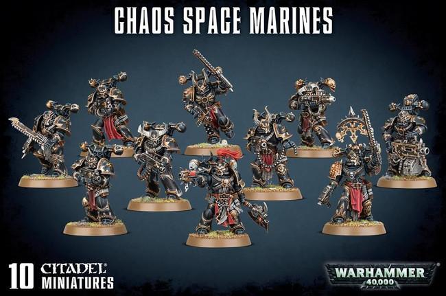 Chaos Space Marines, Warhammer 40,000, Games Workshop