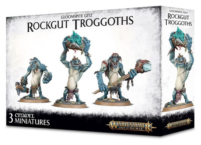 Gloomspite Gitz Rockgut Troggoths, Warhammer 40,000, Games Workshop