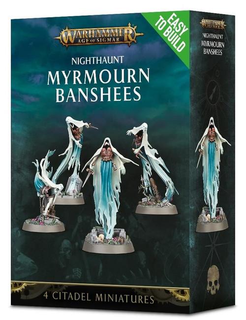 Nighthaunt Myrmourn Banshees, Easy to Build, Warhammer 40,000,Games Workshop