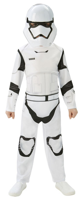 Stormtrooper Classic (Kids) Costume, Fancy Dress, Medium, UK Size, Childrens