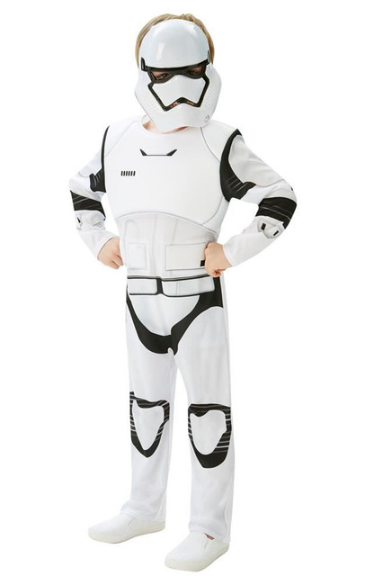 Stormtrooper Deluxe (Kids) Costume, Fancy Dress, Age 13-14, UK Size, Childs