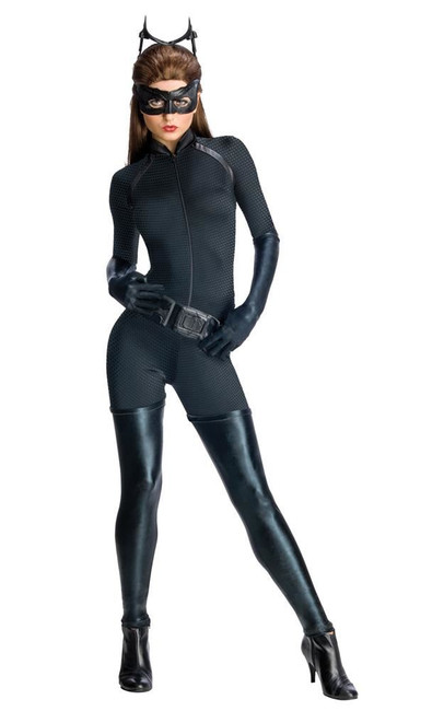 Catwoman Secret Wishes Costume, Fancy Dress, XS, US Size