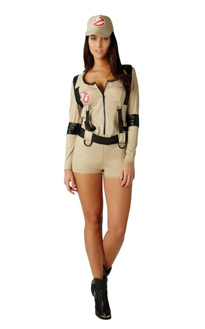 Female Ghostbuster - Shorts Costume, Fancy Dress, Small, UK Size