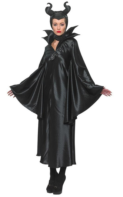 Movie Maleficent Costume, Fancy Dress, Small, UK Size