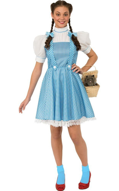 Wizard Of Oz - Dorothy Costume, Fancy Dress, Large, US Size