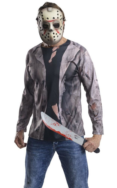 Jason Costume Kit Costume, Fancy Dress, STD, US Size