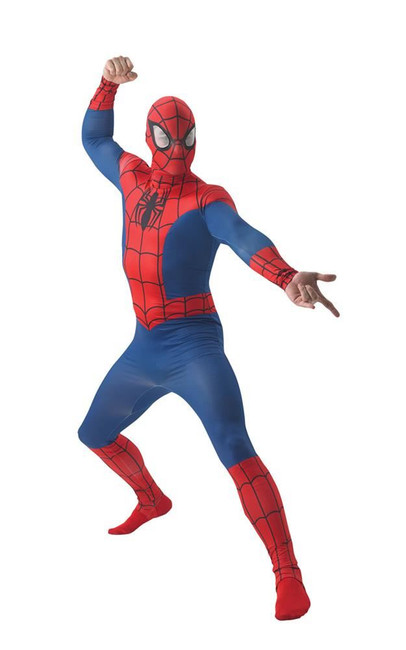 Spider-Man Costume, Fancy Dress, XL, UK Size