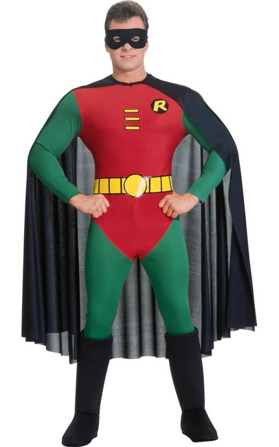 Robin, The Boy Wonder Costume, Fancy Dress, Small, US Size
