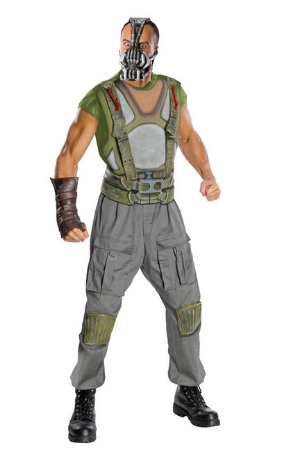 Batman, Bane (adult) deluxe Costume, Fancy Dress, XL, US Size