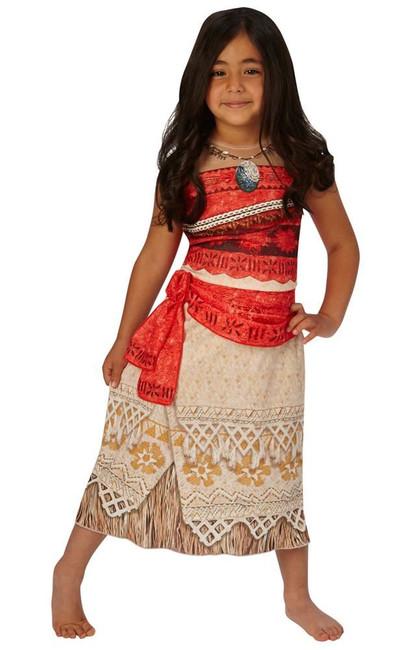 Classic Moana Costume, Fancy Dress, Small, UK Size, Childrens