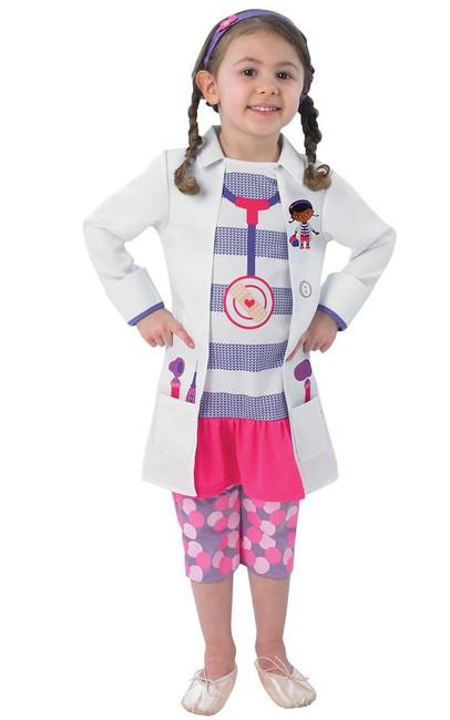 Doc McStuffins (child) Costume, Fancy Dress, TODD, UK Size, Childrens