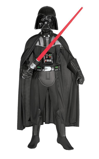 Deluxe Darth Vader (Child) Costume, Fancy Dress, Large, US Size, Childrens