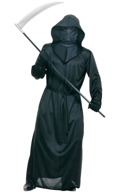 Black Mesh Face Robe, Accessory, Fancy Dress