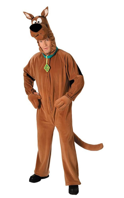 Adult Scooby Doo Costume, Fancy Dress