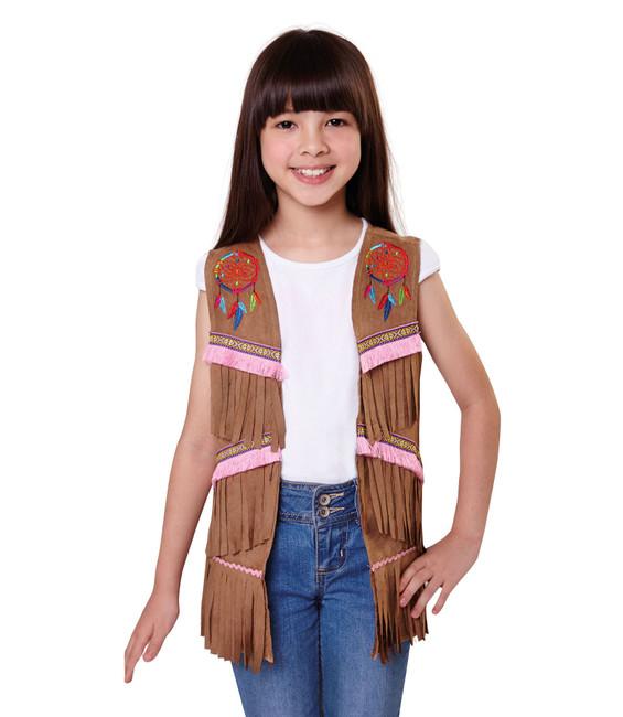Indian Waistcoat Girls, Medium