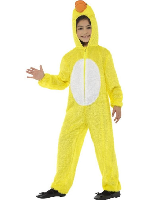 Yellow Duck Costume, Children's Animal Fancy Dress. Medium Age 7-9